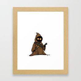 Oooh, Teeny Jawa! Framed Art Print