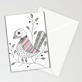 Madhubani Bird Stationery Cards