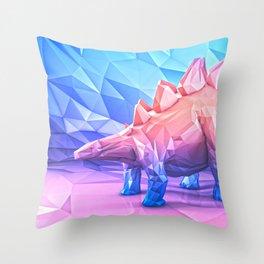 """DINO - """"STEGO""""( 1:8) Throw Pillow"""