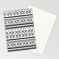 Christmas Jumper Black & White Stationery Cards