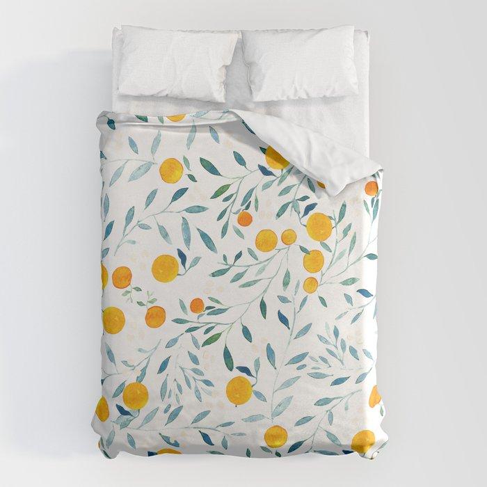 Orange Tree Bettbezug