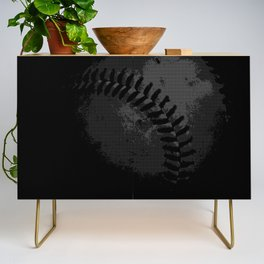 Baseball Illusion Credenza