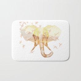 X-ray Art Elephant Bath Mat