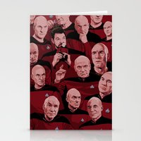 picard Stationery Cards featuring Picard Day by Brian J. Smith