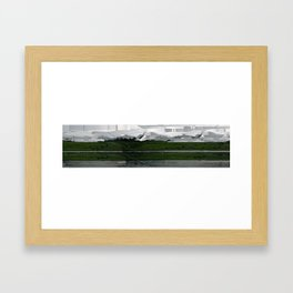 Free Parking Framed Art Print