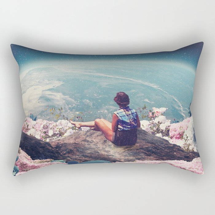 My World Blossomed when I Loved You Rectangular Pillow