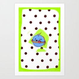 Good morning Sleepy planet ! Art Print