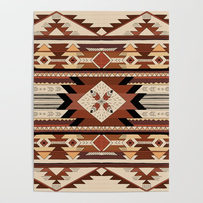 Native feather Poster