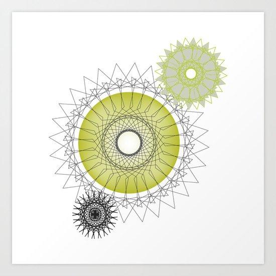 Modern Spiro Art #5 Art Print