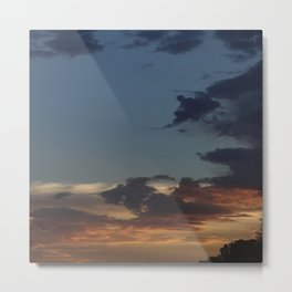 Sunset in the Valley Metal Print