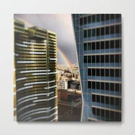 Working rainbow Metal Print