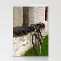 cycle Stationery Cards featuring Cycle by Sarah Paterson