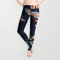 flora Leggings featuring Flora by Tracie Andrews