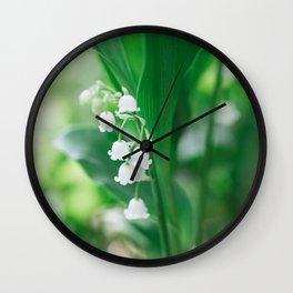 Spring Days Wall Clock