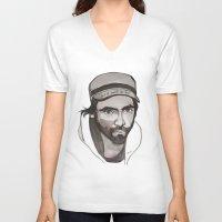 patrick V-neck T-shirts featuring Patrick Watson by Icillustration