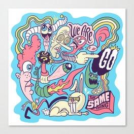 Doodle #2389 Canvas Print