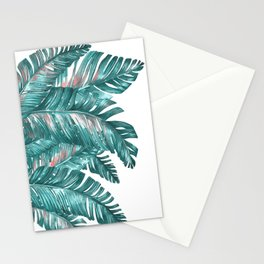 tropical blue Stationery Cards