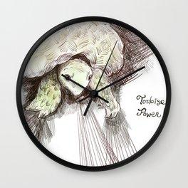 Tortoise power! Wall Clock