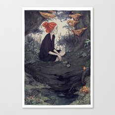 The Hunt - Forest 2 Canvas Print