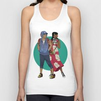 lilo and stitch Tank Tops featuring Lilo & Stitch by Hyung86