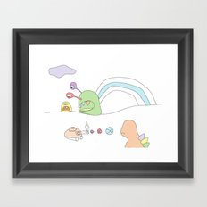 Funland 4 Framed Art Print