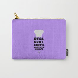 Real Grill Chefs are from Kolkata T-Shirt D16lr Carry-All Pouch