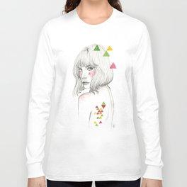 Color geometry Long Sleeve T-shirt