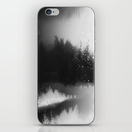 Fading Down Hidden Rain Drenched Paths iPhone Skin
