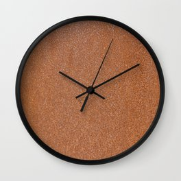Rust Texture Wall Clock