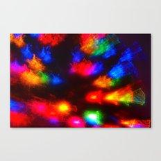 Color Burst Canvas Print