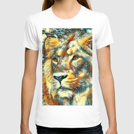 AnimalArt_Lion_20170606_by_JAMColorsSpecial T-shirt