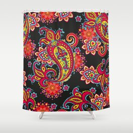 paisley exotique Shower Curtain