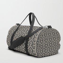 N82 - Geometric Traditional Moroccan Art Pattern Farmhouse Style Duffle Bag