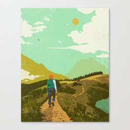 WARM TRAILS Canvas Print