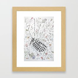 The bagpipes Framed Art Print