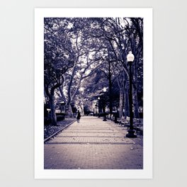 The End of Fall Art Print