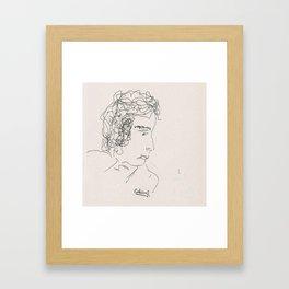 Upside-down Framed Art Print