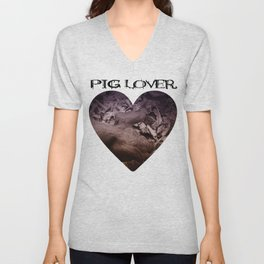 MY LITTLE PIG (Us And Them) Unisex V-Neck
