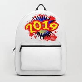 2019 Comic Exclamation Backpack