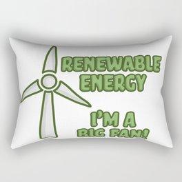 Renewable Energy Rectangular Pillow