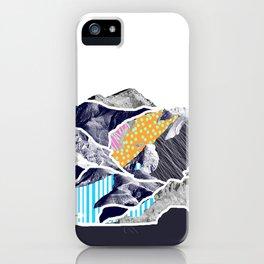 Super fantastic landslide iPhone Case