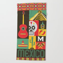 Mexico Beach Towel