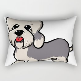 Dandie dinmont terrie Rectangular Pillow