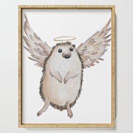 Angel hedgehog Serving Tray