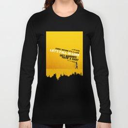 """Sign 'O' The Times"" - Prince Lyrics Long Sleeve T-shirt"