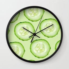 Cucumber Wall Clock