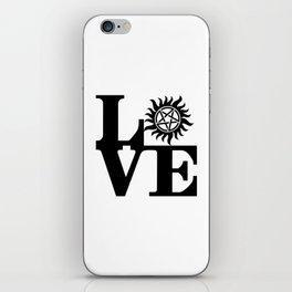 Supernatural Love iPhone Skin
