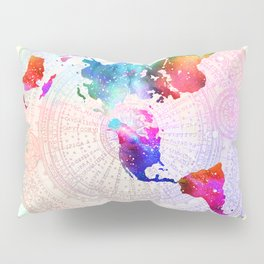Flat Earth Pillow Sham