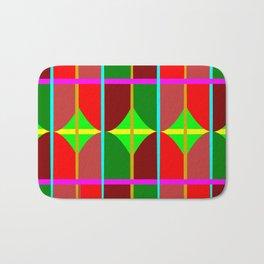 Multicolored Tribal Bath Mat