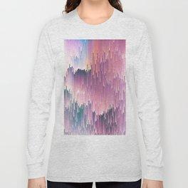 Rainbow Glitches Long Sleeve T-shirt
